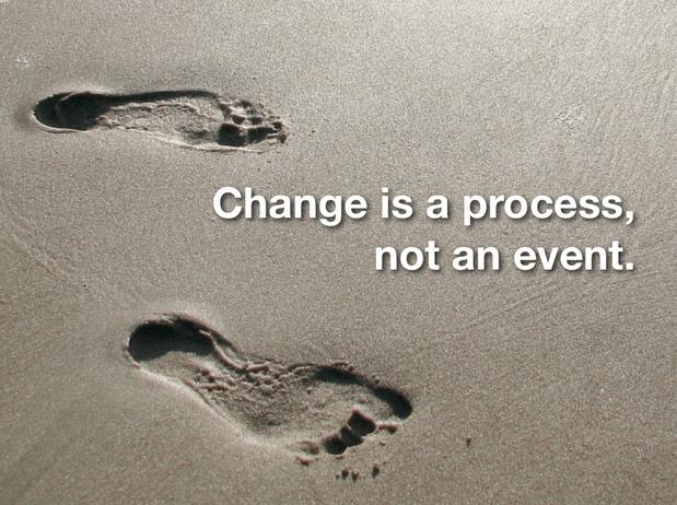 Процесс: Не бойся меняться