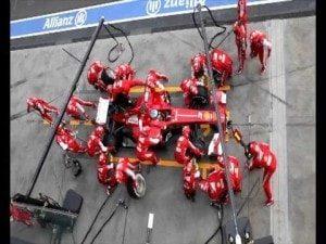 Эффективность персонала на примере Ferrari F1