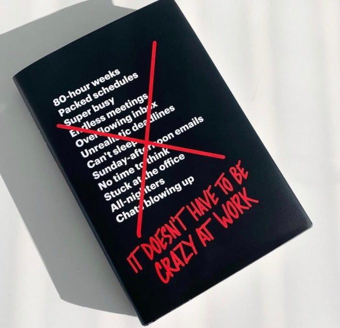 «Не нужно сходить с ума на работе»: ключевые идеи новой книги от основателей Basecamp
